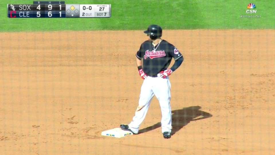 Cowgill's two-run double