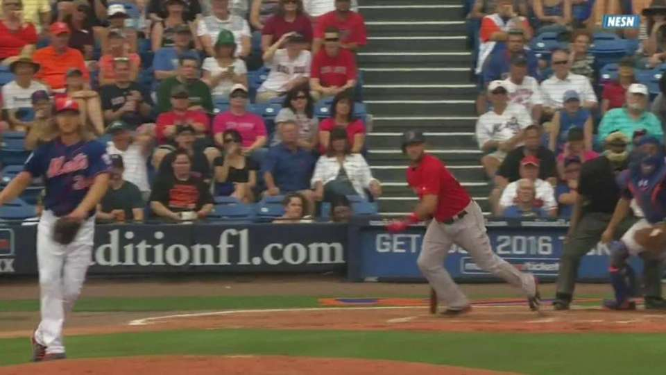 Shaw's RBI single to left field