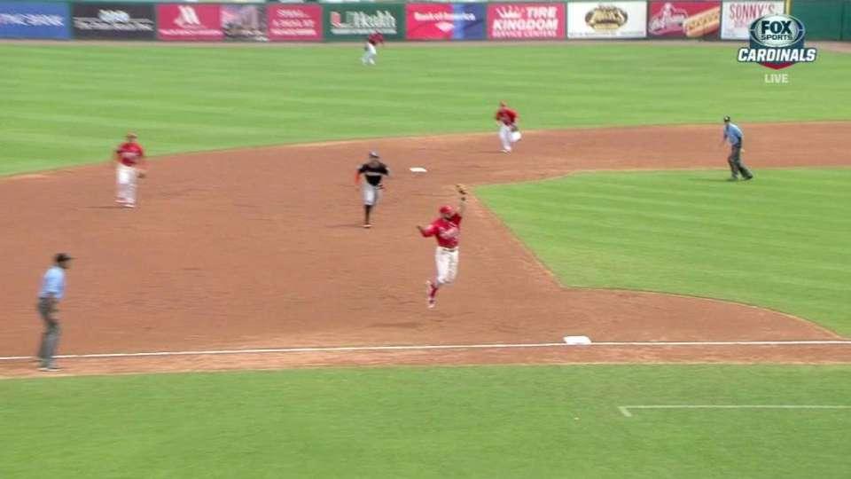 Garcia's double play