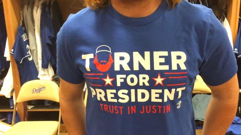 newest 5cf67 38db7 Justin Turner for President