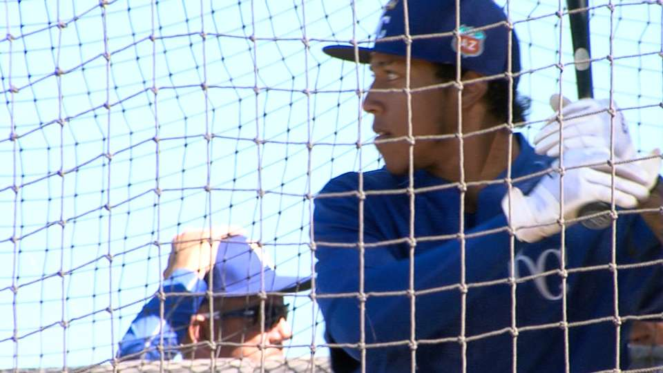 Mondesi, Zimmer on Royals' camp
