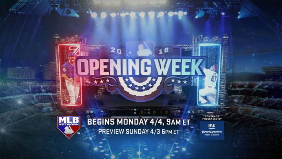 Opening Week on MLB Network