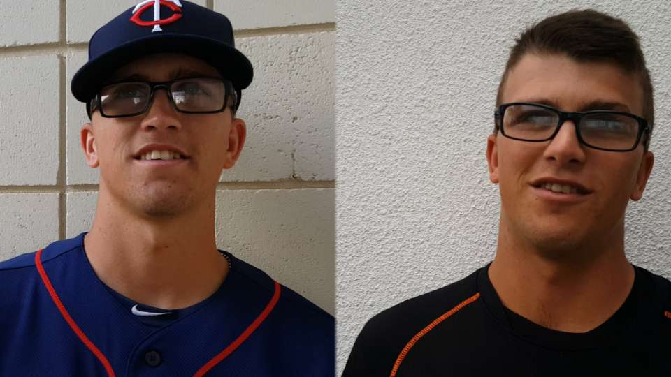 Wells twins competing in spring