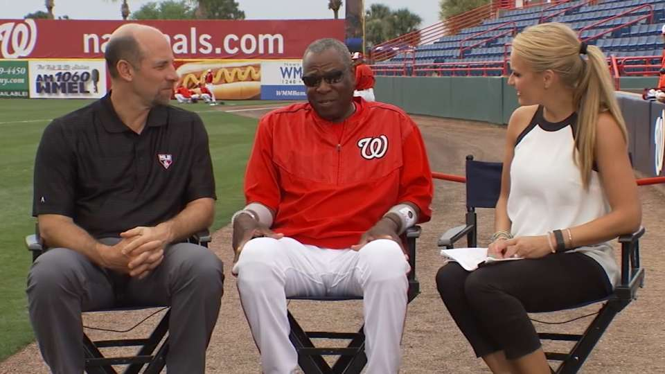 Baker on first spring with Nats
