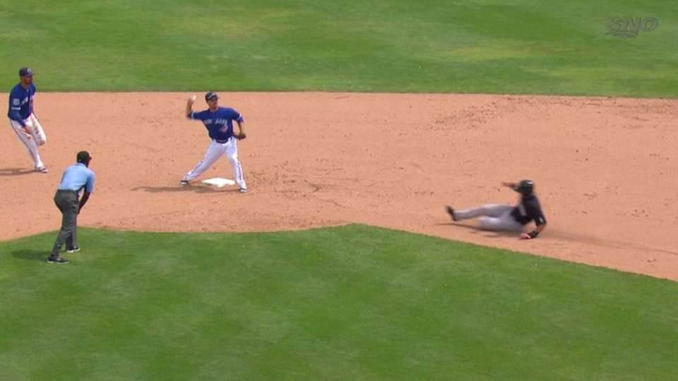Mier's double play