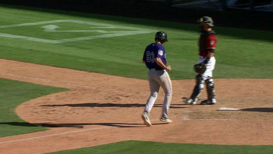 Nelson's two-run triple