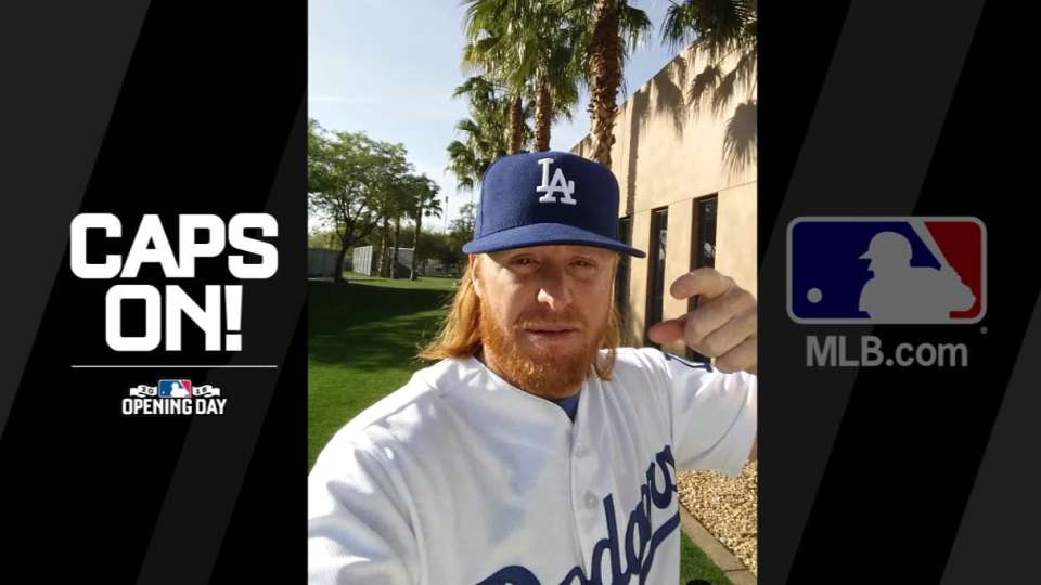 Get your Dodgers caps on!
