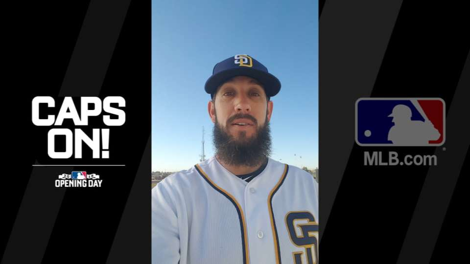 Get your Padres caps on!