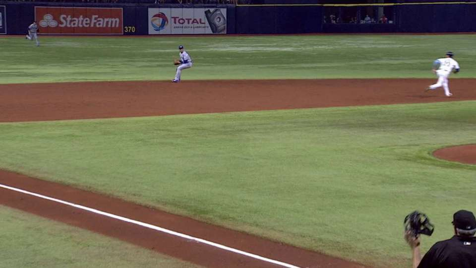 Tulo's backhanded pick
