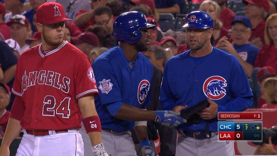 Fowler's three-hit night