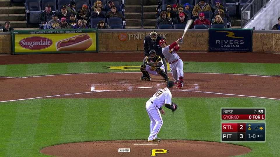 Gyorko's two-run home run
