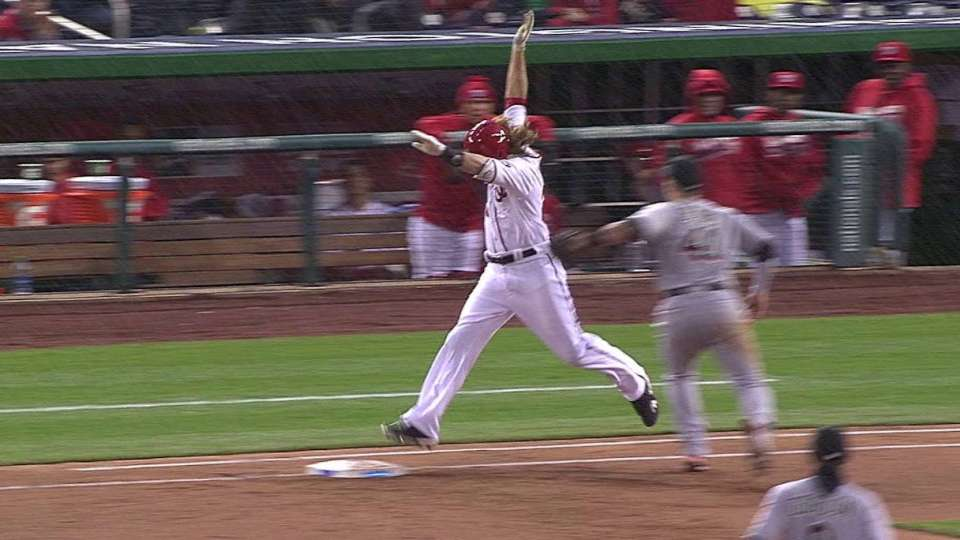 Bour tags out Werth