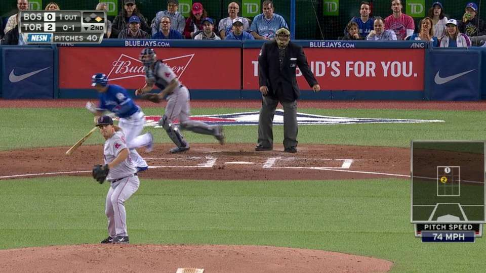 Wright starts double play