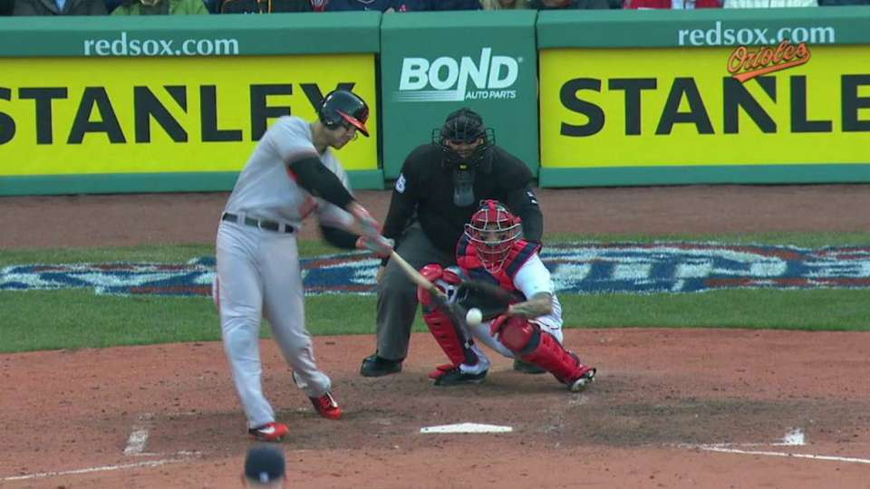 Davis' three-run homer