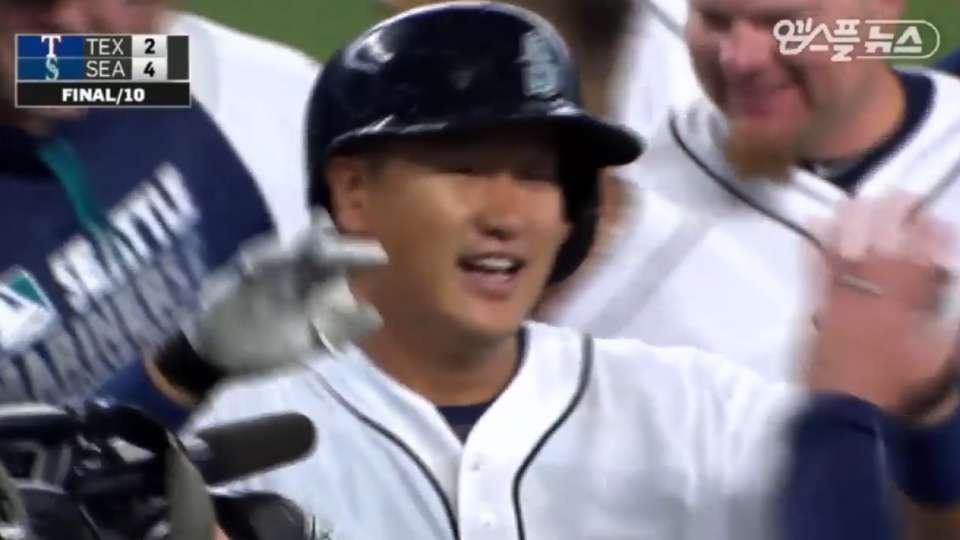 Lee's walk-off from Korean TV