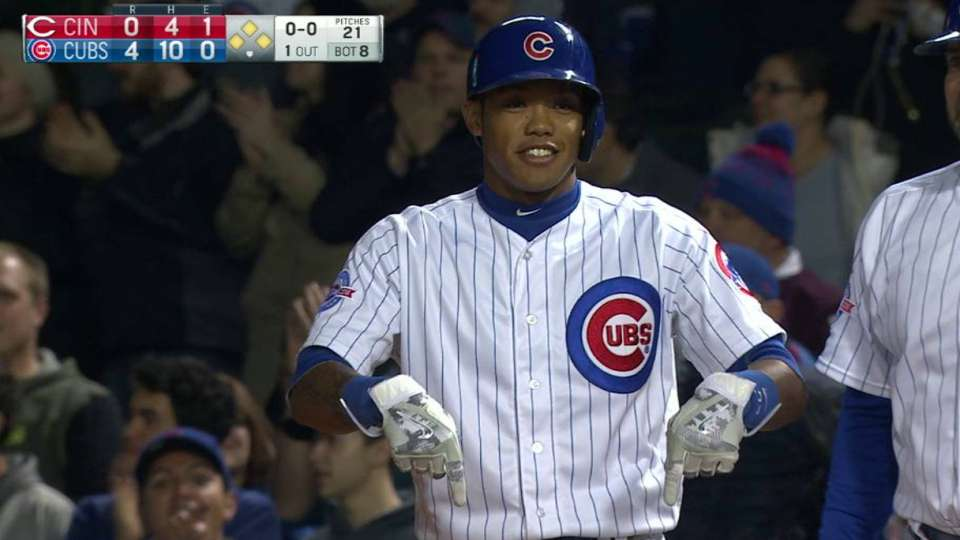 Russell's RBI single in the 8th