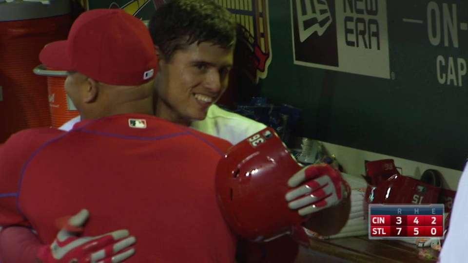 Diaz's three-run homer