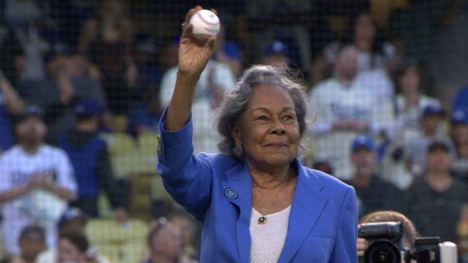 Jackie Robinson Day Ceremonies