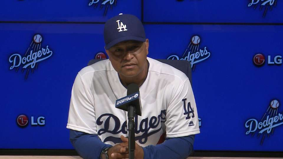 Roberts on Dodgers' 7-3 win