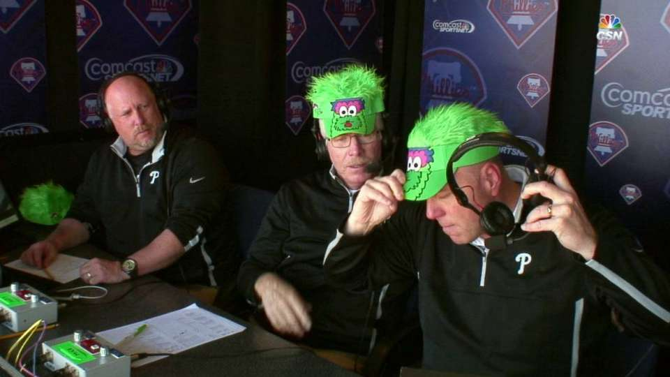 Phils' booth dons Phanatic hat