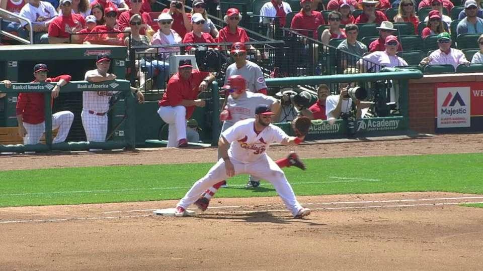 Cardinals nab Duvall at first
