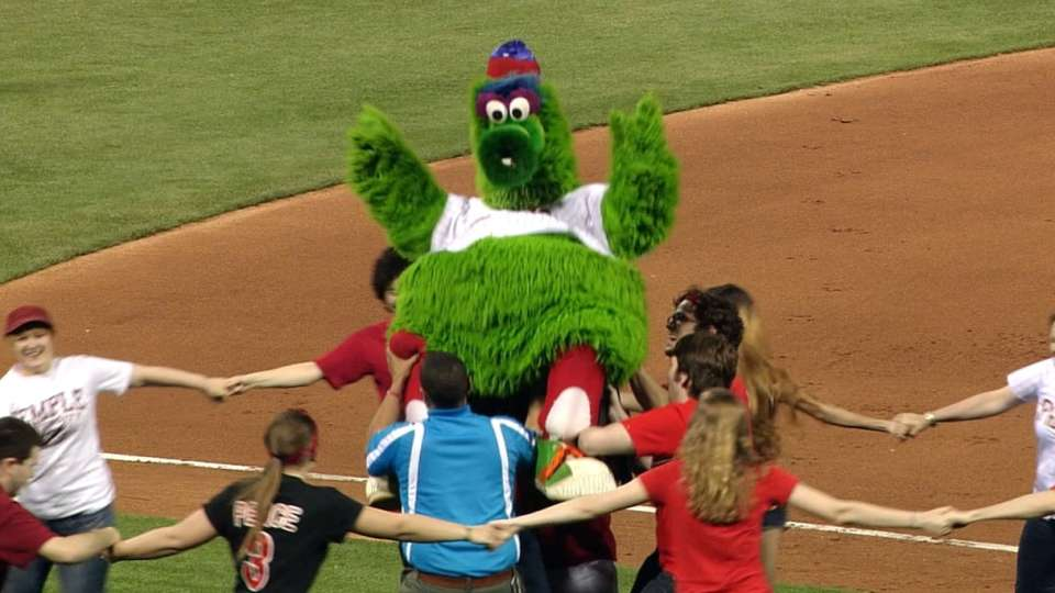 Phillie Phanatic's great moments