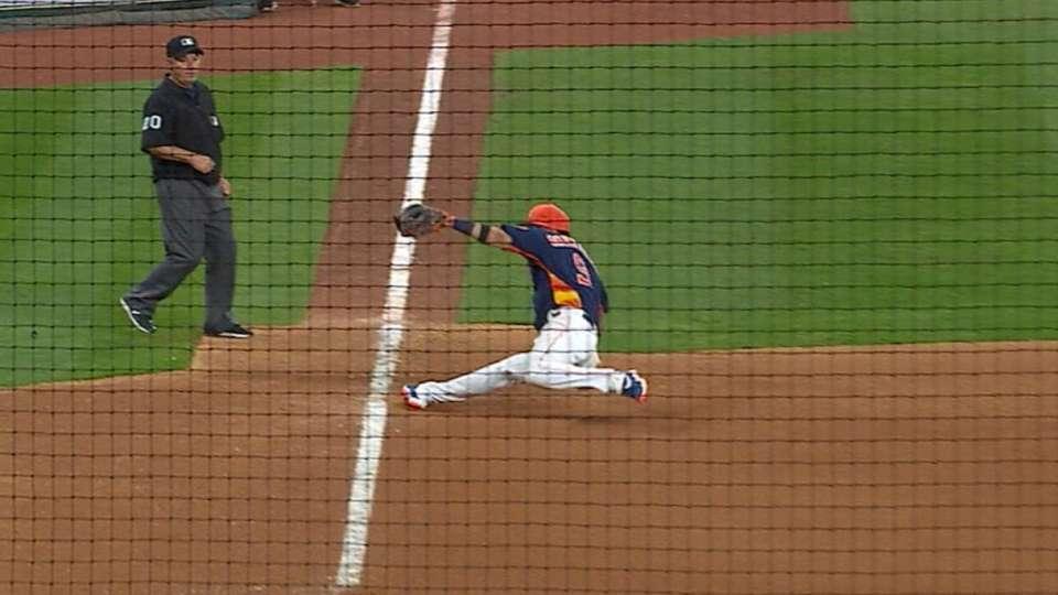 Astros' flashy defense