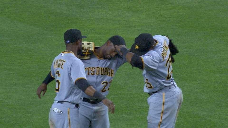 Cole, Rodriguez lead Pirates