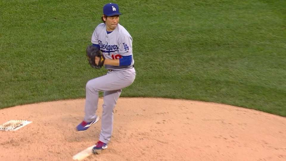 Maeda off to a hot start in LA