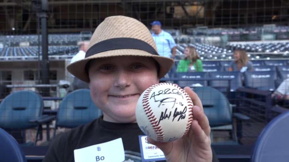 Padres meet Make-A-Wish kids