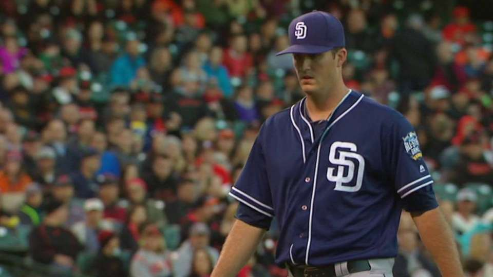 Pomeranz pitches out of a jam