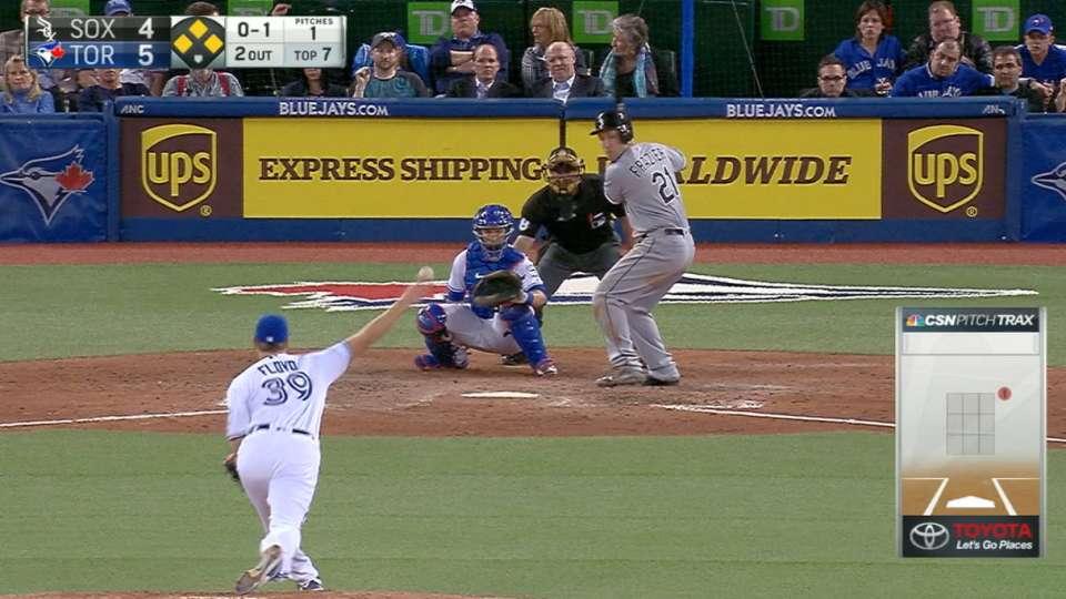 White Sox score five runs in 7th