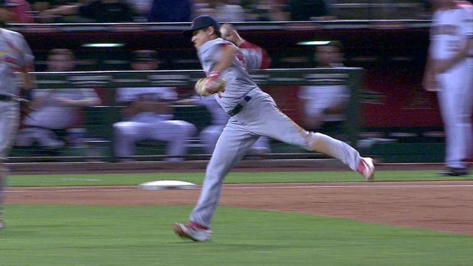 Diaz's play at short
