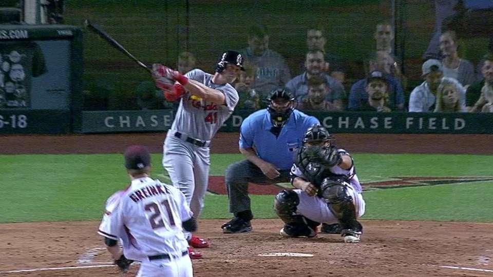 Hazelbaker's two-run home run