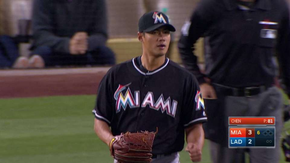 Marlins turn double play