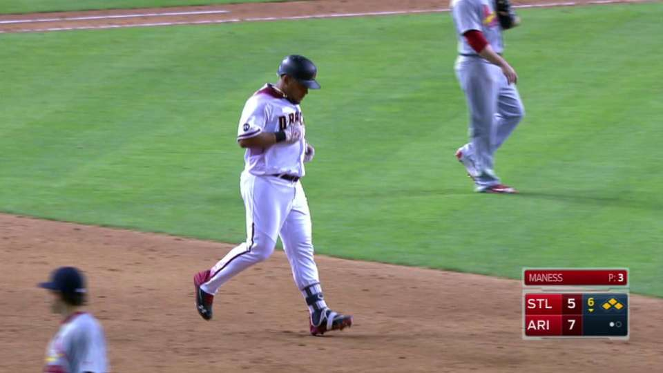 Tomas' RBI ground-rule double