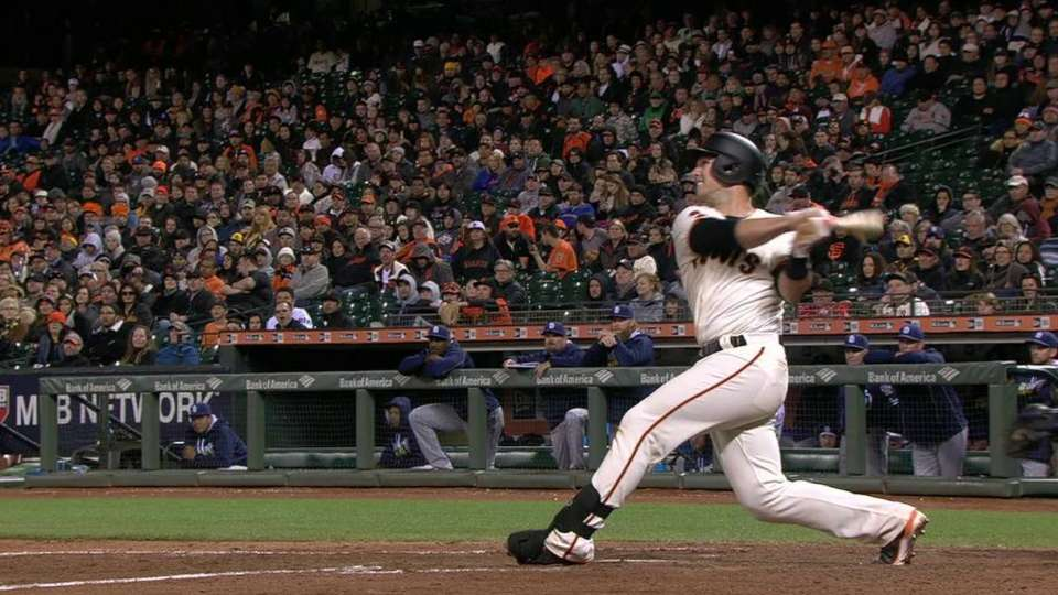 Posey's solo jack