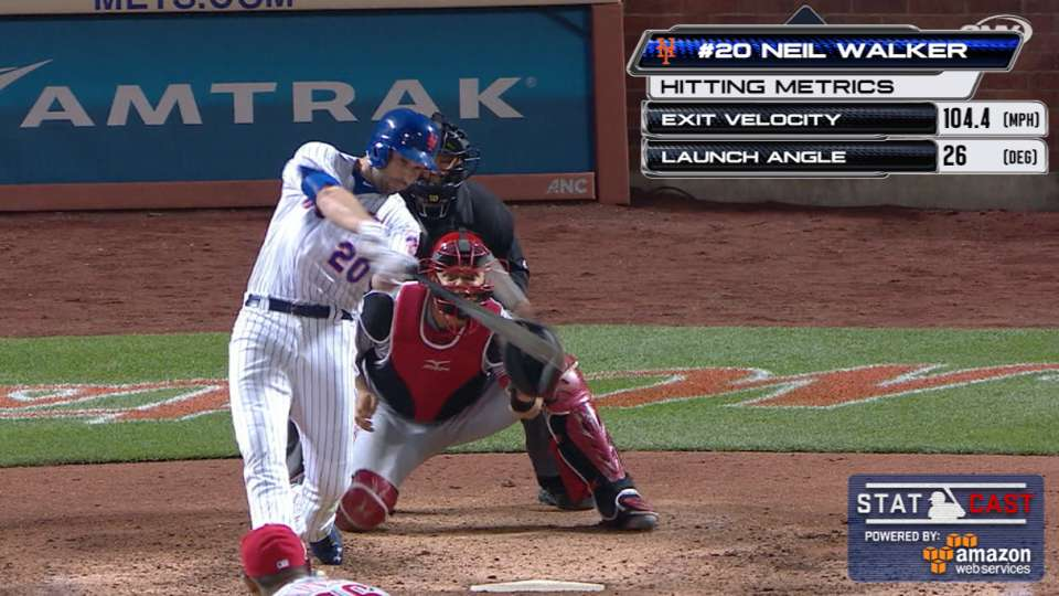 Statcast: Walker's eighth homer