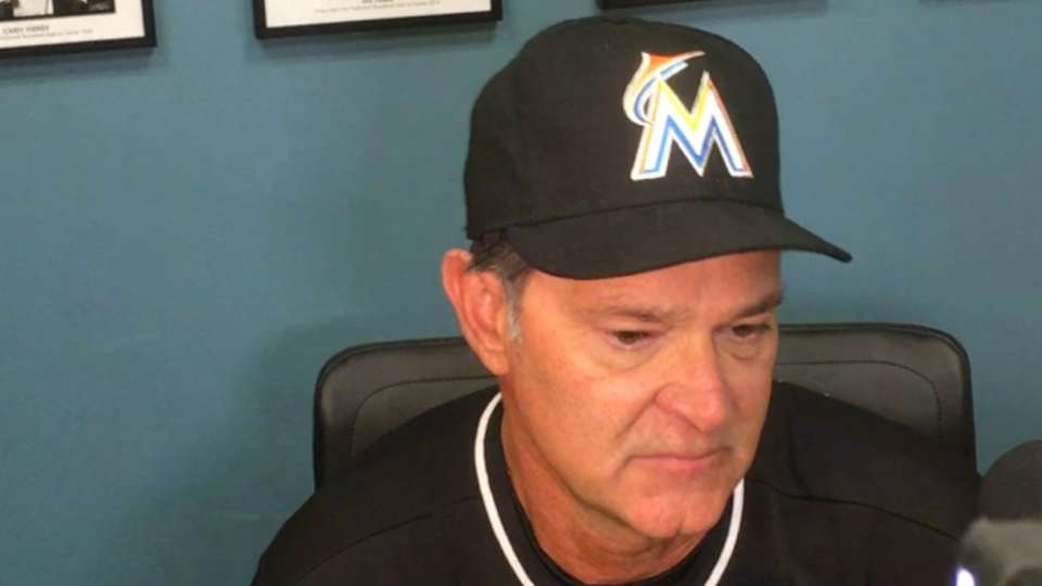 Mattingly on win over Dodgers