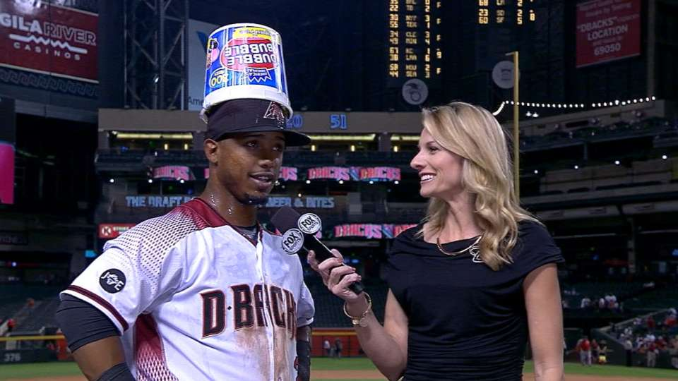 Segura on D-backs' 12-7 win