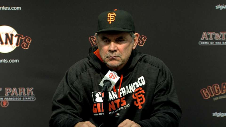 Bochy on win against Padres
