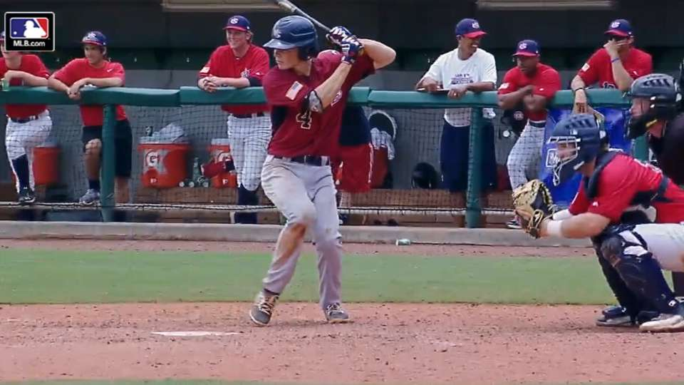 2016 Draft: Gavin Lux, SS