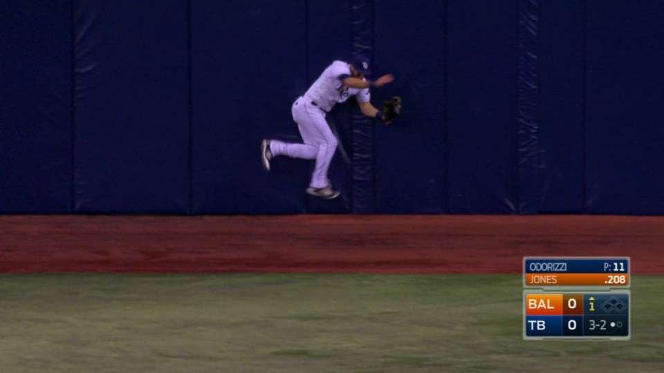 Kiermaier's great catch