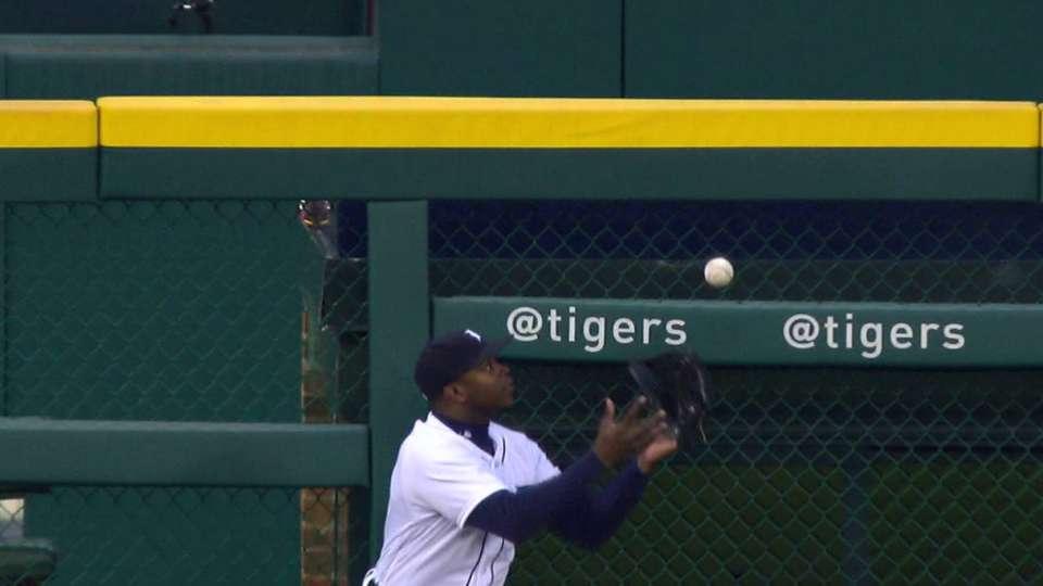 Upton's fantastic catch