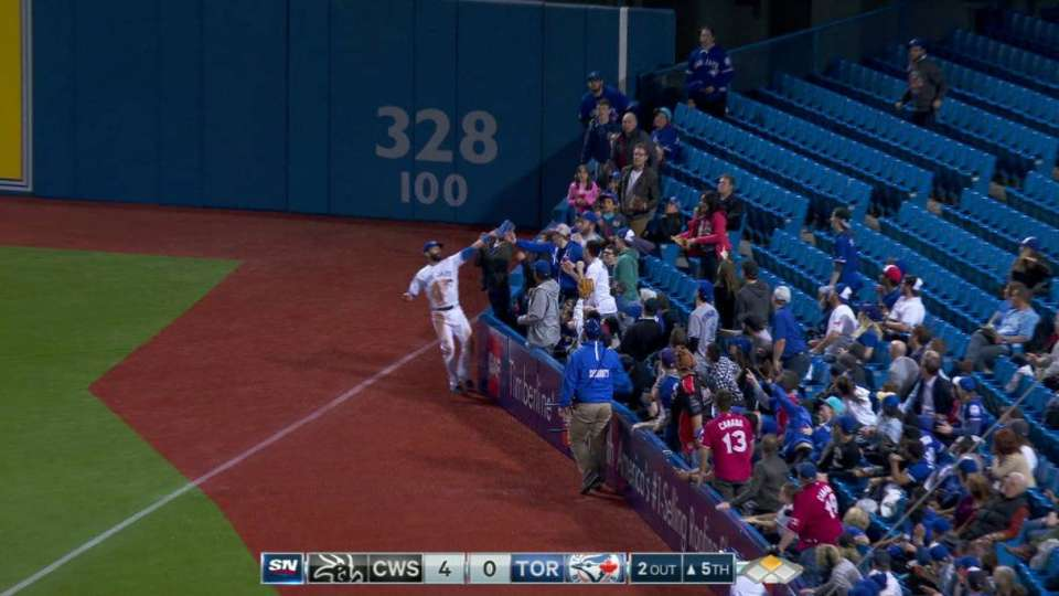 Bautista's great catch