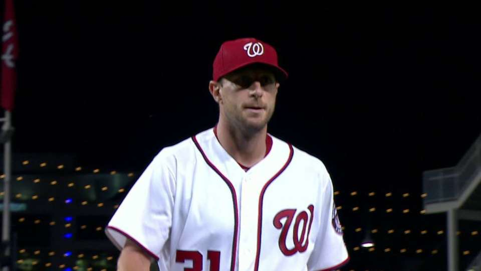 Scherzer gets out of trouble