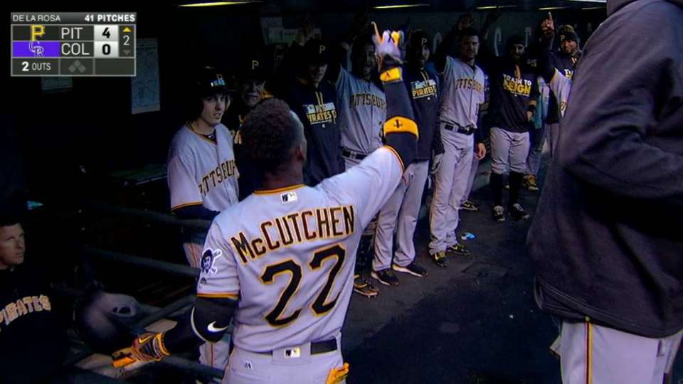 Cutch's second homer