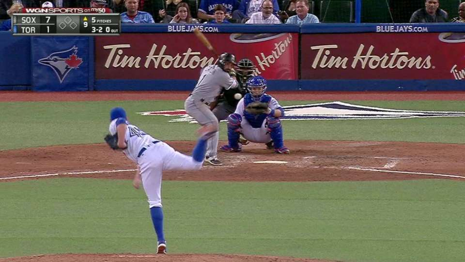 Eaton's solo home run
