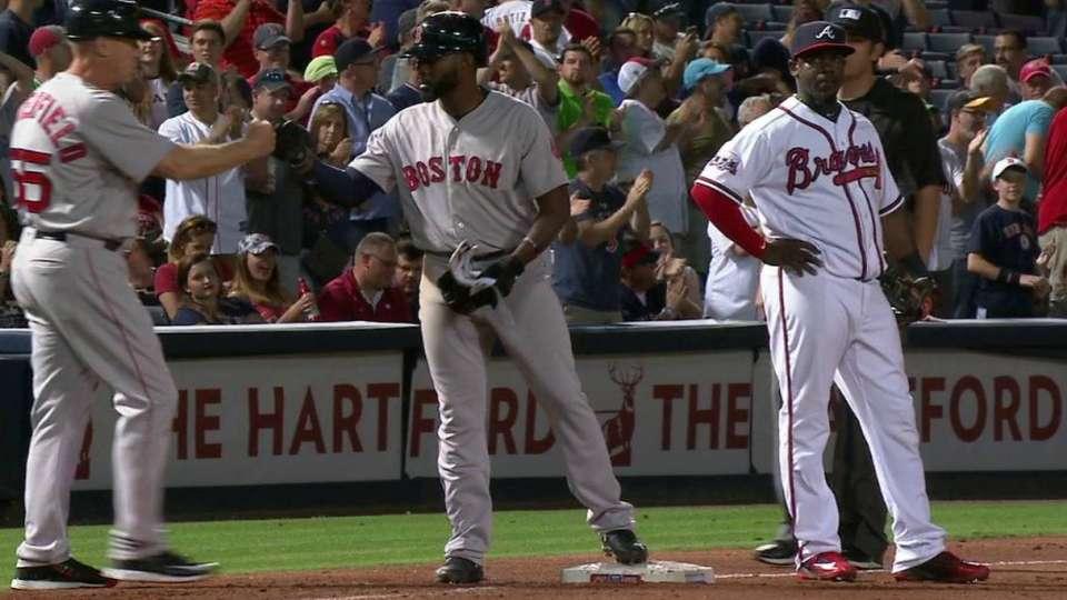 Bradley Jr.'s RBI triple
