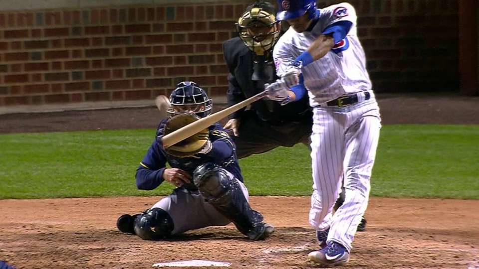 Russell's two-run triple